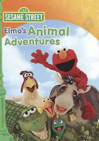 Elmo's Animal Adventures - (Region 1 Import DVD)