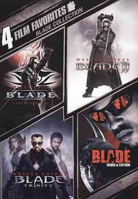 4 Film Favorites:Blade Collection - (Region 1 Import DVD)