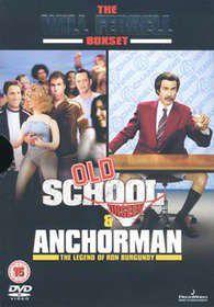 Old School / Anchorman (DVD)