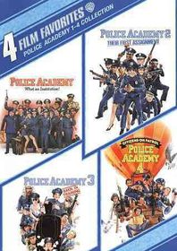 4 Film Favorites:Police Academy 1-4 - (Region 1 Import DVD)