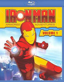Iron Man:Armored Adventures Volume 1 - (Region A Import Blu-ray Disc)