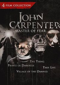 John Carpenter Master of Fear Collect - (Region 1 Import DVD)
