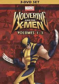 Wolverine and the X Men Vol 1-3 - (Region 1 Import DVD)