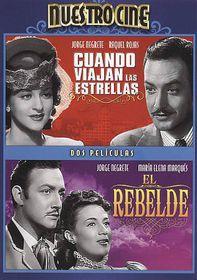 Cuando Viajan Las Estrellas/El Rebeld - (Region 1 Import DVD)