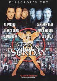 Any Given Sunday - (Region 1 Import DVD)