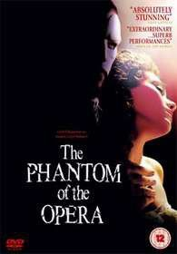 The Phantom Of The Opera (DVD)
