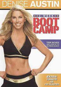 Denise Austin:3 Week Boot Camp - (Region 1 Import DVD)