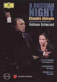 Russian Night (Rachmaninov Stravinsky - (Region 1 Import DVD)