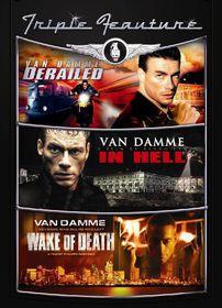 Derailed / In Hell / Wake of Death - (Region 1 Import DVD)
