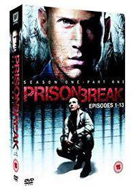 Prisonbreak Season 1 Part 1 Eps 1-13 (DVD)