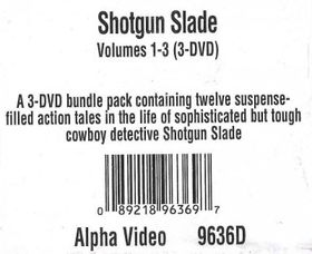 Shotgun Slade Vols 1-3 - (Region 1 Import DVD)