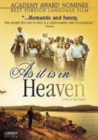 As It is in Heaven - (Region 1 Import DVD)
