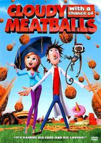 Cloudy with a Chance of Meatballs - (Region 1 Import DVD)