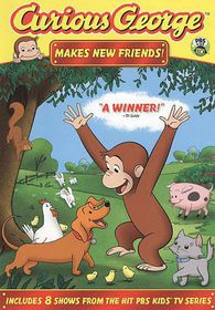 Curious George:Makes New Friends - (Region 1 Import DVD)