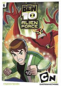 Ben 10 Alien Force: Vol6 - (Region 1 Import DVD)