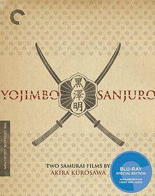Yojimbo/Sanjuro:Two Films by Akira Ku - (Region A Import Blu-ray Disc)