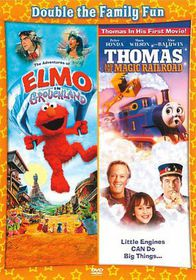 Adventures of Elmo in Grouchland/Thom - (Region 1 Import DVD)