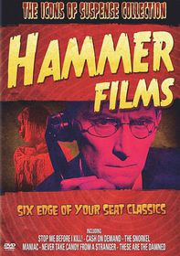 Icons of Suspense:Hammer Films - (Region 1 Import DVD)