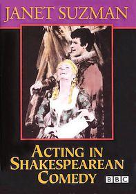 Acting in Shakespearean Comedy - (Region 1 Import DVD)