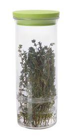 Progressive Kitchenware - Fresh Herb Keeper - (26 x 10.5 x 10.5cm) - Transparent