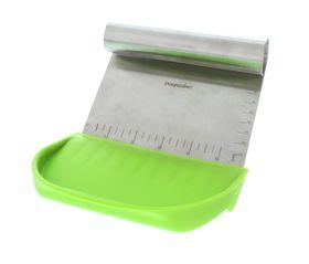Progressive Kitchenware - 2 Piece Chop and Scoop Set - Green