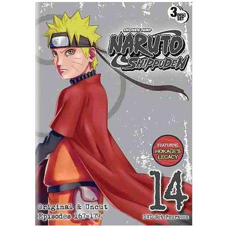 Naruto Shippuden Box Set 14 - (Region 1 Import DVD)
