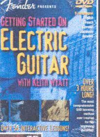 Starting Electric Guitar - (Import DVD)