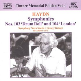 Georg Ti - Tintner Memorial Edition - Vol.4 (CD)