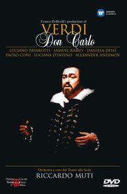 Verdi-Don Carlo La Scala (2 Discs-Riccardo Muti) - (Import DVD)