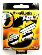 Headblade Triple Blade 4ct Kit
