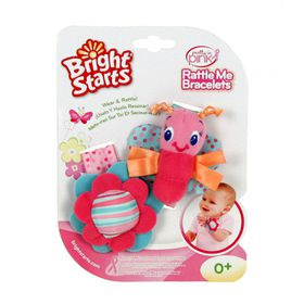 Bright Starts - Pretty In Pink Rattle Me Bracelets
