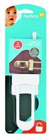 Safety 1st - Cabinet Slide Lock (2 Pack)