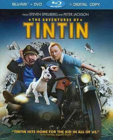 Adventures of Tintin - (Region A Import Blu-ray Disc)