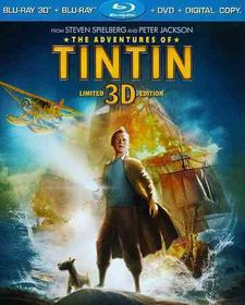 Adventures of Tintin 3d - (Region A Import Blu-ray Disc)