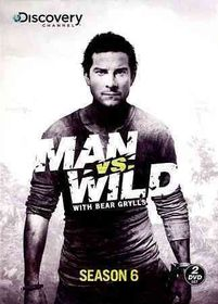 Man Vs Wild:Season 6 - (Region 1 Import DVD)