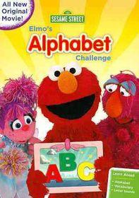 Sesame Street:Elmo's Alphabet Challen - (Region 1 Import DVD)