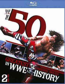 50 Greatest Finishing Moves in Wwe Hi - (Region A Import Blu-ray Disc)