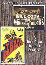 Vanishing Riders/Texas Rambler - (Region 1 Import DVD)
