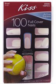 Kiss - 100 Nails Hawk Curve Active Square