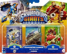 Skylanders 2 Battle Pack 1: Chop Chop, Shroomboom, Cannon Piece