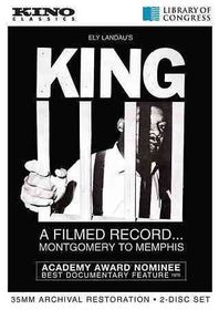 King:Filmed Record from Montgomery to - (Region 1 Import DVD)