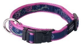 Rogz - Fancy Dress 20mm Dog Collar - Denim Rose
