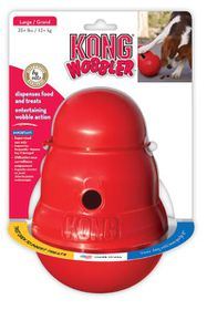 Kong Dog - Toy Wobbler - Large - Red
