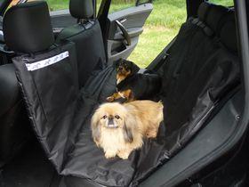 Wagworld - Double Car Seat Hammock - Black