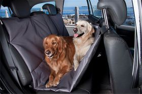 Wagworld - Double Car Seat Hammock - Grey
