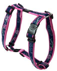 Rogz - Fancy Dress Extra-Large Armed Response Dog H-Harness - Navy & Pink