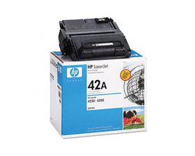 HP No. 42A Black Print Cartridge