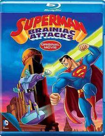 Superman:Brainiac Attacks - (Region A Import Blu-ray Disc)