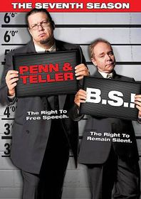 Penn & Teller:Bs Complete Seventh - (Region 1 Import DVD)