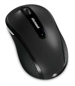 Microsoft Wireless Mobile Mouse 4000 Mac/Win USB Bluetrack - Graphite